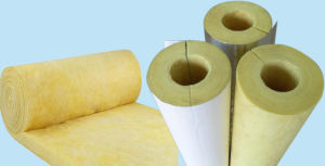 Heat Insulation Tube Building Material Pipe Glasswool pictures & photos