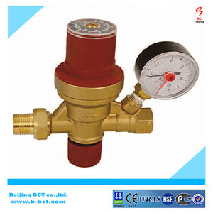 Brass Filling Valve with Gauge 2-4bar pictures & photos