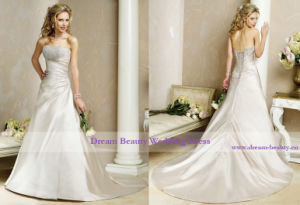 Wedding Gown & Bidal Dress (Hs37-Mic)