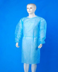 Isolation Gown/Sterile Isolation Gown/Tie-Back Disposable Isolation Gown (ZG-XTYH001) pictures & photos