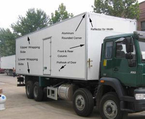 Refrigerated Truck Body (JB-10)