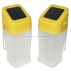 Soft LED Lighting, Solar Candle Light, Kettle Solar Lantern