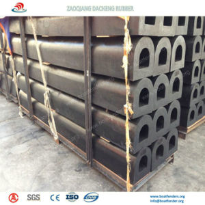 Strong Crushing Resistance Arch Fenders on Sea Port pictures & photos