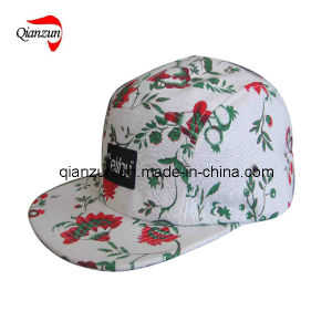 5 Panel Flora Baseball Cap (ZJ009) pictures & photos