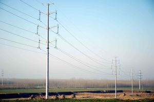 110kv Steel Pole pictures & photos