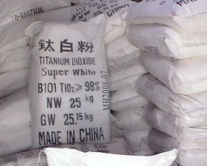 Titanium Dioxide (Molecular Formula: TiO2) pictures & photos