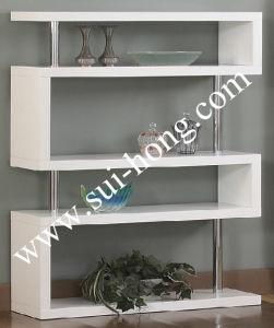 Functional High Glossy MDF Bookshelf