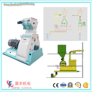 Low Price Powder Feed Making Machinery with Tear-Shaped Grinding Chamber pictures & photos