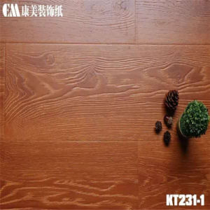 Melamine Paper for Synchronised Register of Laminted Wooden Flooring pictures & photos