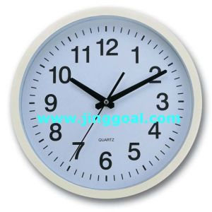 Plastic Quartz Wall Clock (JEC562) pictures & photos