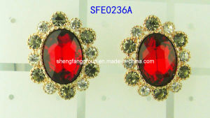 Fashion Jewelry Siam Earring (SFE0236A)