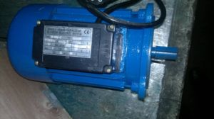 Single Phase Two Capacitors Electric Motor