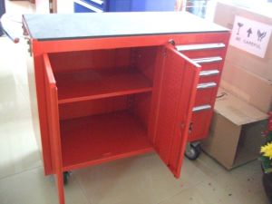 Metal Tool Trolley Cart