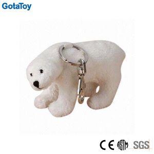 Custom Plush Polar Bear Keychain Stuffed Animal Keychain pictures & photos