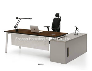 Professional Manufacturer Furniture Latest Black Office Table Designs (BS-D018) pictures & photos