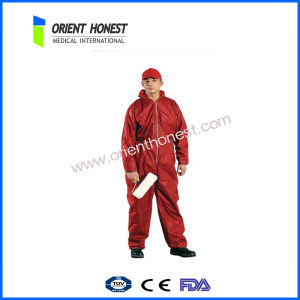 High Quality Red Men′s Fashion Coverall