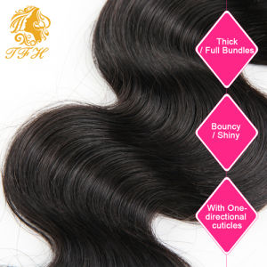 Virgin Hair with Closure Body Wave with Closure 4bundles with Closure Lace Closure with Bundles Sew in Weave Natural Wave pictures & photos