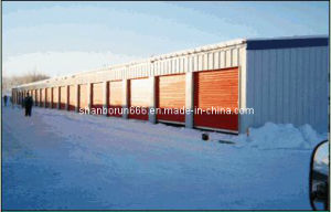 Steel Storage Unit Industrial Steel Buildings Structural Steel Plants Design and Fabrication (br00057)