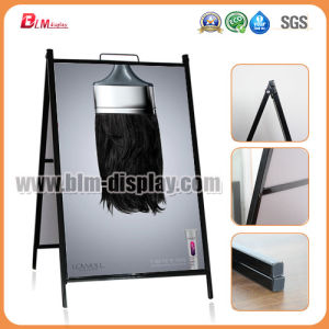 Black Metal Sign Frame Outdoor Picture Display Frame