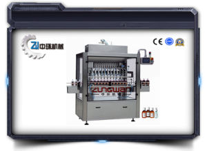 Straight Line Type Piston Filling Machine Zh6f-6n pictures & photos