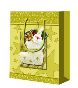Fashion Custom Christmas Gift Promotional Shopping Bag pictures & photos