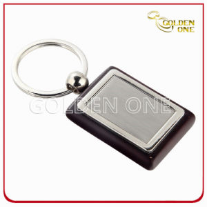 High Quality Wooden Key Ring with Metal pictures & photos