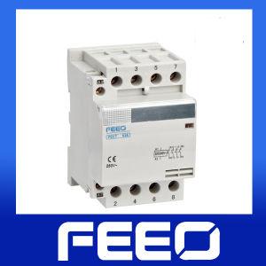 Mini DIN Rail 400V Coil Modular AC Contactor pictures & photos