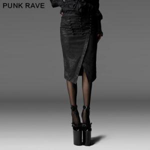 Fashionable Long Legs Women Short Skirt (Q-197) pictures & photos