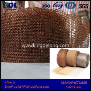 Copper Gas-Liquid Filter Knitted Wire Mesh pictures & photos