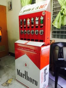 Mechanical Single Cigarettes Vending Machine (AV-SCM6)