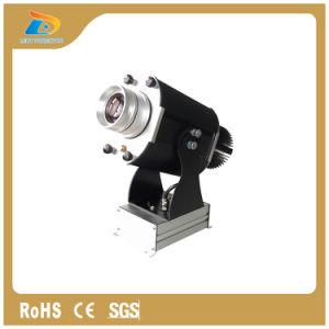 30W Turning Gobo 3000 Lumens IP65 Logo Projector 62mm Image pictures & photos