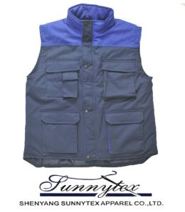 Hot Selling Mens Multipocket Safari Vest pictures & photos