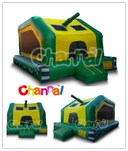 Army Tank Bounce House/Inflatable Bouncers Bb084 pictures & photos