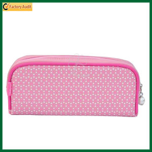 Polyester Colorful Fashion Zipper Pencil Case (TP-PCB016) pictures & photos