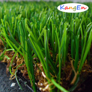 Popular Bicolor U Shape Artificial Grass for Landscaping (BET-B36) pictures & photos