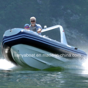 Liya 5.2m PVC Inflatable Rubber Boat Rigid Hull Inflatable Boat Suppliers pictures & photos
