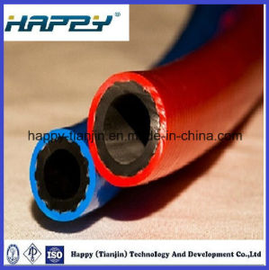 Oxygen and Acetylene Twin Welding Hose pictures & photos