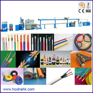 Builing Computer Power Cable Extrusion Equipment and Machine pictures & photos