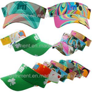 Fashion Colorful Design Fabric Leisure Sun Visor (TMV9508-1) pictures & photos