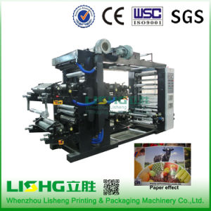 Ytb-41200 High Performance HDPE Film Bag Flexo Printing Machinery pictures & photos