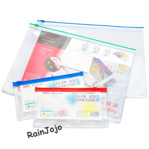 A4 Document Packing, PVC Document Bag pictures & photos