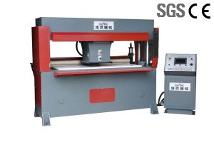 Hydraulic Traveling Head CNC Cutting Press for Making Shoes pictures & photos
