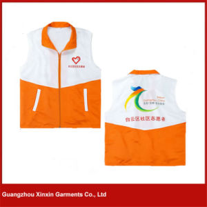 Guangzhou OEM Factory Wholesale Cheap Polyester Promotion Vest Supplier (V22) pictures & photos