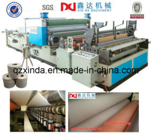 Automatic Hand Towel Paper Roll Making Machine pictures & photos