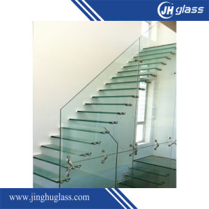 6.38mm Tempered Blue Laminated Glass pictures & photos