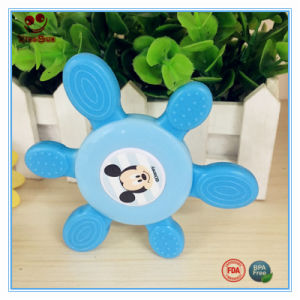 BPA Free Baby Silicone Tortoise Shaped Rattle pictures & photos