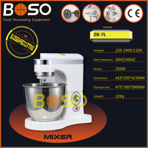 Boso Brand 7L High Quality Planetary Dough Mixer (ZB-7L)