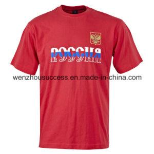 Men′s Fashion Cotton Short Sleeve T-Shirt (SH14-5T015) pictures & photos