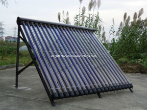 Metal Glass Heat Pipe Solar Collector pictures & photos