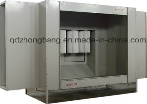 Single Station Coating Booth for Metal with ISO9001 pictures & photos
